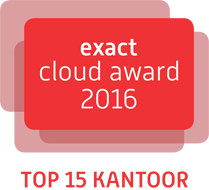 exact cloud award 2016 logo